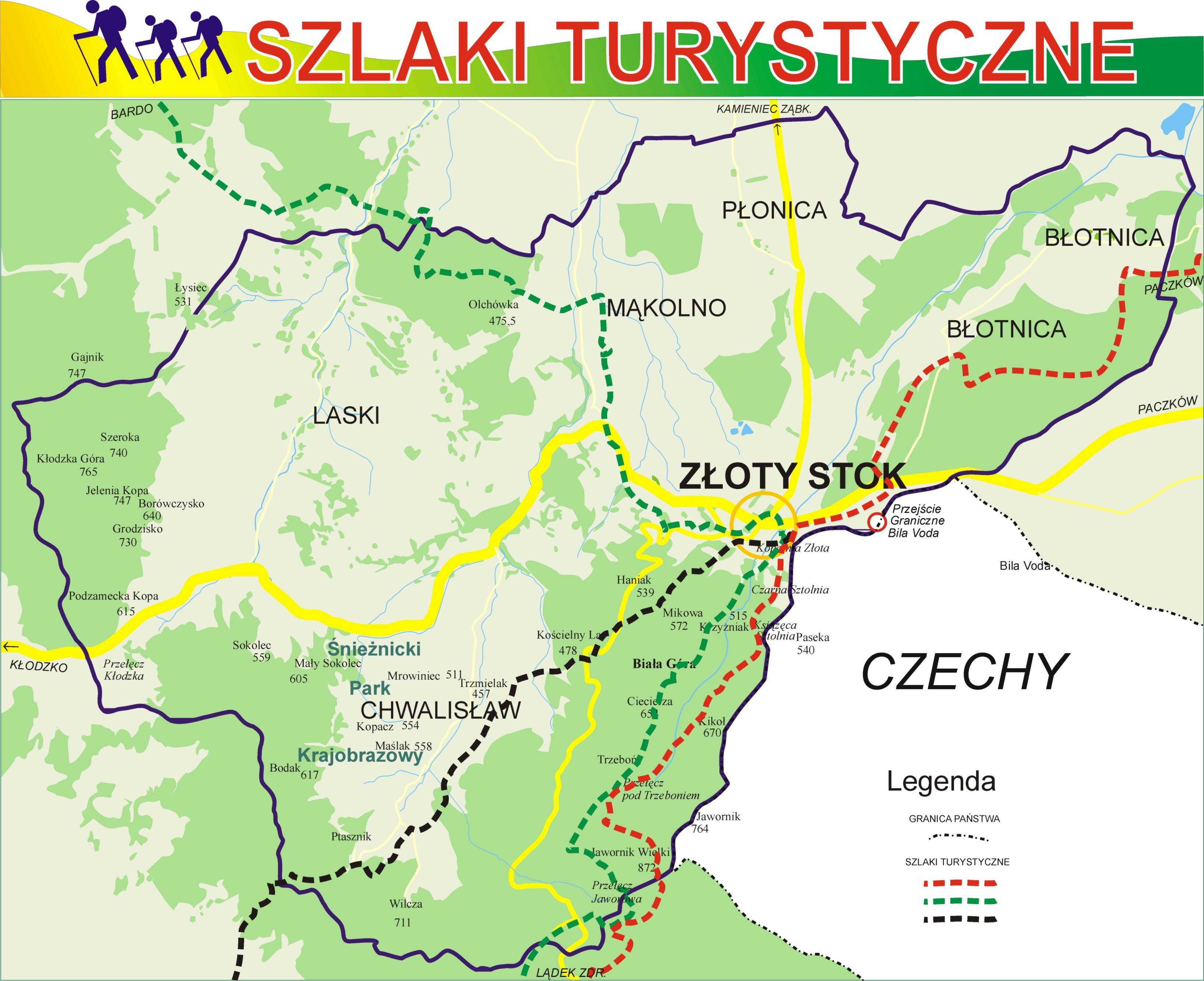 Szlaki Turystycznyne Atrakcje Turystyczne Dla Turysty Strona